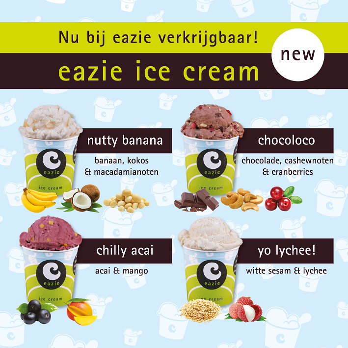eazie introduceert gezondere ijsjes!